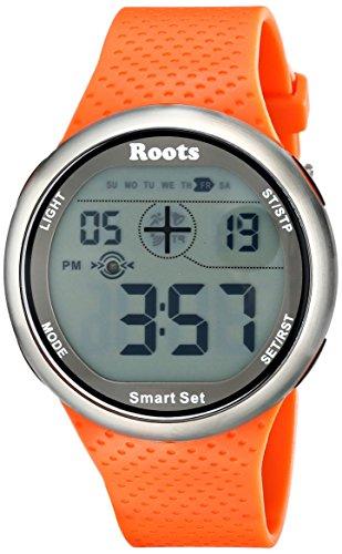 roots-mens-1r-at404or1o-cove-digital-display-quartz-orange-watch