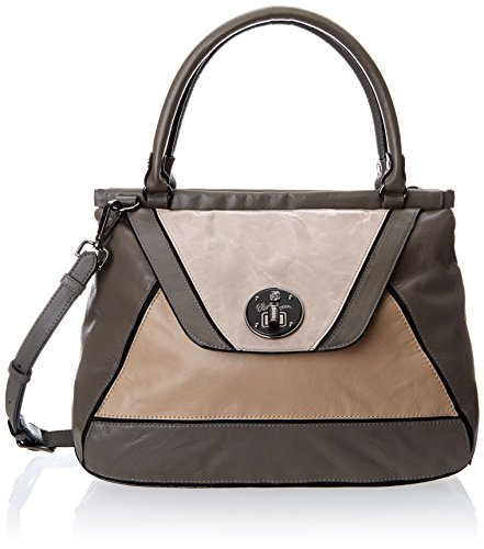 Elliott Lucca Cordoba Frame Satchel Top Handle Bag, Smoke Multi, One Size