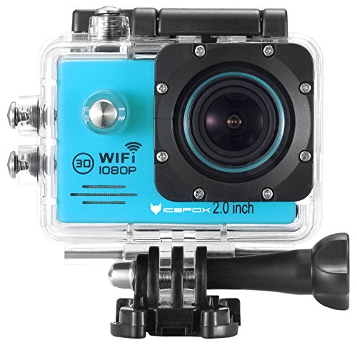 Action-Kamera-von-icefox--Wasserdichte-Wi-Fi-Action-Kamera-mit-12-MP-1080P-HD-20-LCD-Taucherhelm-Sportwagen-Kamera-mit-kostenlosem-Accessories-Kit