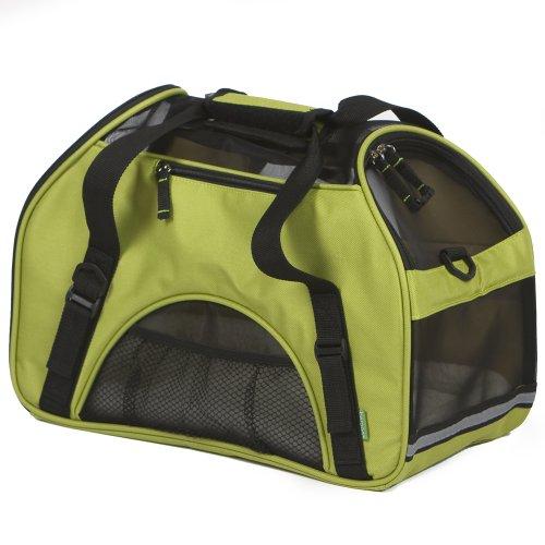 Bergan Comfort Pet Carrier, Spinach Green, Small