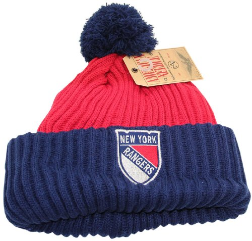 NHL New York Rangers Beanie Hat Premium Design at Amazon.com