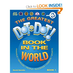 Amazon.com: The Greatest Dot-to-Dot Book in the World, Book 1 (9780970043702): David Kalvitis: Books: Reviews, Prices & more