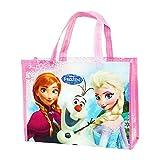 Disney Frozen Reusable Lesson Bag For Kids Pink. H 9.6 x L 13x W 4