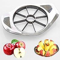 Funnytoday365 Stainless Steel Apple Slicer Fruit Vegetable Tools Kitchen SQ2065