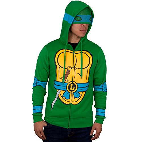 Teenage Mutant Ninja Turtles - I Am Leonardo Costume Zip Hoodie