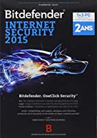 Bitdefender Internet Security 2015 (3 postes, 2 ans)