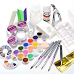 Kit manucure complet pose ongles resi...