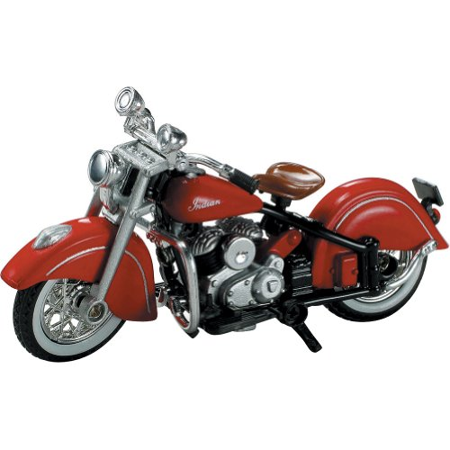 New Ray 1947 Indian Chief Replica Motorcycle Toy - 1:32 Scale