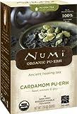 Numi Organic  Cardamom Pu'erh Tea Bags, 16-Count, 1.19 Oz.