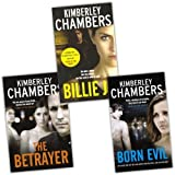 Kimberley Chambers Kimberley Chambers Collection 3 Books Set Pack RRP: £20.97 (Billie Jo, Born Evil, The Betrayer)