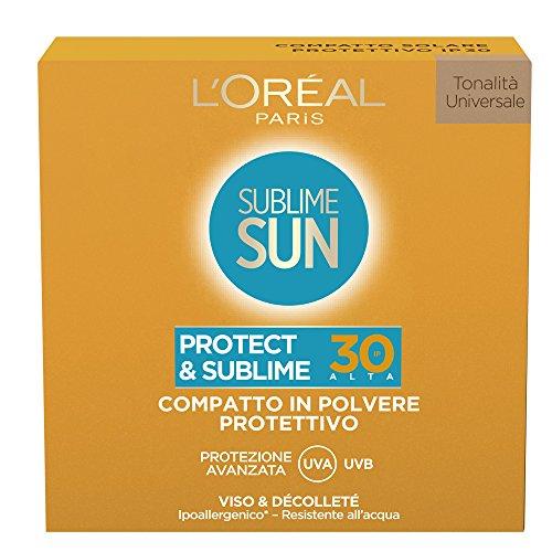 L'Oréal Paris Sublime Sun Protect & Sublime Compatto in Polvere Protettivo IP 30