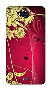 SWAG my CASE PRINTED BACK COVER FOR MICROMAX CANVAS PLAY Q355 Multicolor