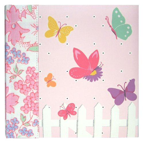 Flowers & Butterflies Sew Vintage Photo Album