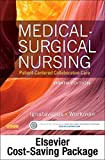 img - for Medical-Surgical Nursing -- Two-Volume Text and Elsevier Adaptive Quizzing Package, 8e book / textbook / text book