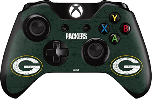 Green Bay Packers Distressed - Skin for Xbox One - Controller