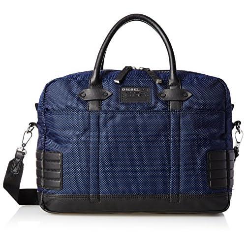 [ディーゼル] DIESEL メンズ バッグ URBAN EASTSIDEURBAN CASE - briefcase X02677P03890071UNI P0389H5402 (ネイビー/)