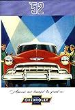 img - for BEAUTIFUL 1952 CHEVROLET DEALERS SALES BROCHURE For Fleetline, Bel Air, Styleline - Models -Deluxe 2-Door Sedan, Special 4-Door Sedan, Special Sport Coupe, Special Business Coupe, Convertible, wagons book / textbook / text book