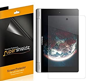 [3-Pack] SUPERSHIELDZ- High Definition Clear Screen Protector For Lenovo Yoga Tablet 10 inch + Lifetime Replacements Warranty [3-PACK] - Retail Packaging from SUPERSHIELDZ
