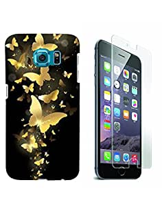Aart 3D Luxury Desinger back Case for samsung galaxy S6 edge FREE Tempered glass screen protector by Aart Store.
