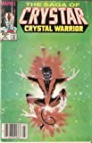 img - for The Saga of Crystar, Crystal Warrior #6 March 1984 book / textbook / text book