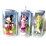 Disney Mickey Mouse Minnie Mouse And Tinker Bell 5 Figurines Series 1