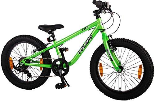 20-20-Zoll-Kinderfahrrad-Kinder-Jungen-Mountainbike-MTB-FAT-Rad-Fahrrad-Bike-Fatbike-Grn