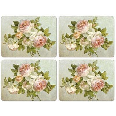 Pimpernel Tischsets – Antique Rose – 4er Satz
