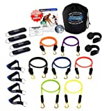 Bodylastics 19-Piece Strong Man Quick-Clip Resistance Band System