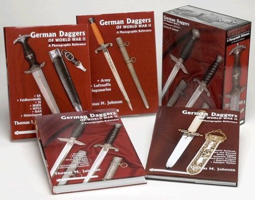 German Daggers Of Wwii, A Photographic Reference: Boxed Set Of Four Volumes In Deluxe Slipcase