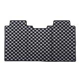 アルファード 30系 ヴェルファイア30系 セカンド マット ラグマット 電動オットマン用 ブラック×グレー 1p