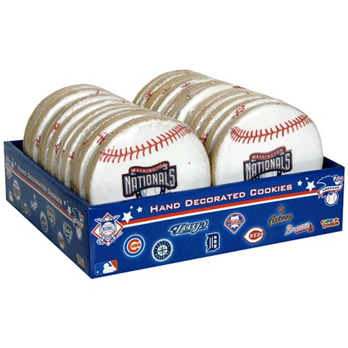 Buy Color-A-Cookie Major League Baseball, Nationals, 24-Count Package (Color-a-Cookie, Health & Personal Care, Products, Food & Snacks, Snacks Cookies & Candy, Cookies)