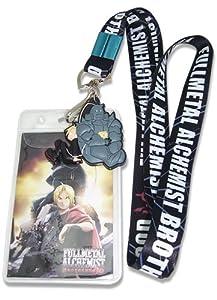 Fullmetal Alchemist Brotherhood Ed & Alphonse Elric Lanyard