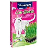 Vitakraft Katzengras-Set, Keimschale, Mineralboden, Saatenmischung, Cat Grass, 24031