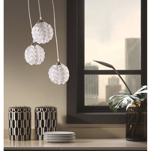 Fine Mod Imports Home Indoor Livingroom Shade Hanging Lamp White