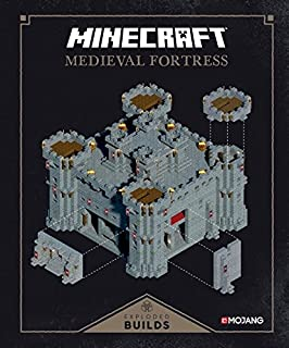 Book Cover: Minecraft: Exploded Builds: Medieval Fortress: An Official Mojang Book