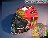 Corey Crawford Chicago Blackhawks Autographed Mini Mask - Autographed NHL Helmets and Masks at Amazon.com