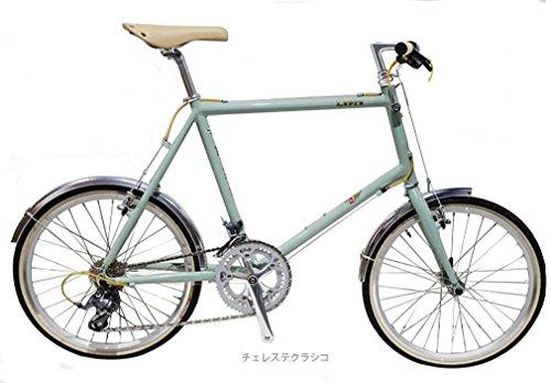 ビアンキ(BIANCHI) CYCLE 2016 MINIVELO-8 フラットバー (2x8s) ミニベロバイク チェレステクラシコ 48