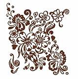 Anna Pomaska Henna Floral Tattoos (Dover Tattoos)