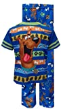 Scooby Doo Blue Striped Toddler Pajamas for Little Boys