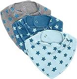 Pippi Halstuch / Dreieckstuch Baby Kinder Hasle 3716 in Hellblau
