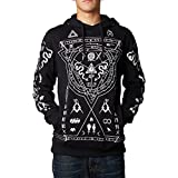 Fox Racing Mens Mind Trip Fleece Hoody Pullover Sweatshirt