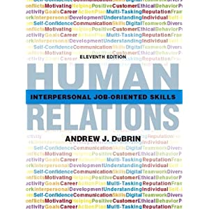 Human relations interpersonal job-oriented skills 11th edition