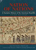 Nation of Nations: A Narrative History of the American Republic (0070157944) by Gienapp, William E.