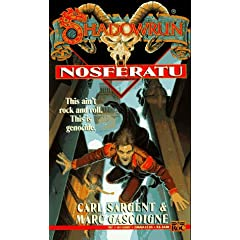 Shadowrun 14: Nosferatu (v. 14) by Carl Sargent and Marc Gascoigne