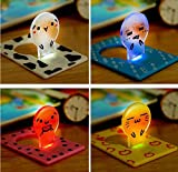 LED Credit Card Size Light Lamp Bulb Power Saving Night Lights portable light Pocket LED light with face expressions (SET OF TWO)