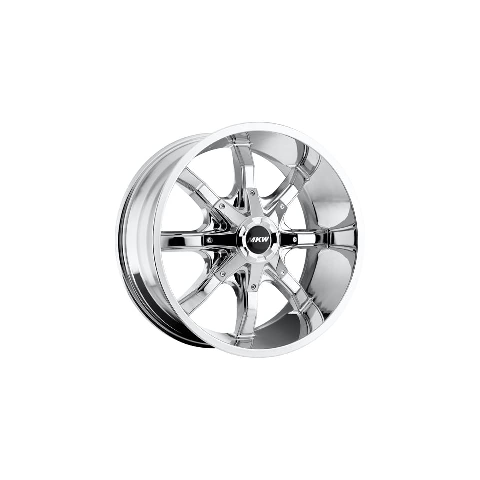 MKW Offroad M81 18 Chrome Wheel / Rim 8x170 with a 10mm Offset and a 130.80 Hub Bore. Partnumber M81 1890817010C Automotive