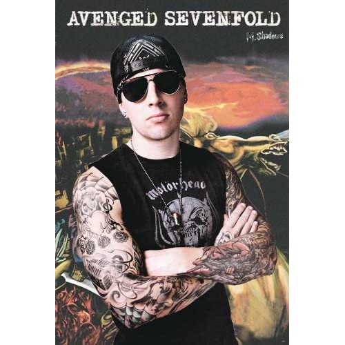 "Amazon.com: Avenged Sevenfold ""M.shadows"" Poster#2 - Rare New - Image"