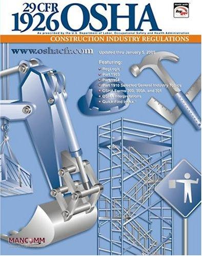29 CFR 1926 OSHA Construction Industry Regulations