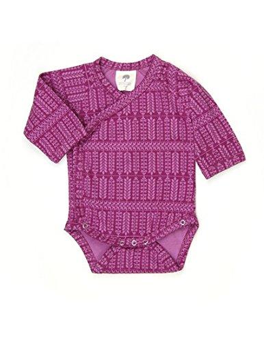 27fec608c Kate Quinn Organics Unisex-baby Long Sleeve Kimono Bodysuit