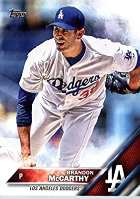 2016 Topps #334 Brandon McCarthy Los Angeles Dodgers Baseball Card